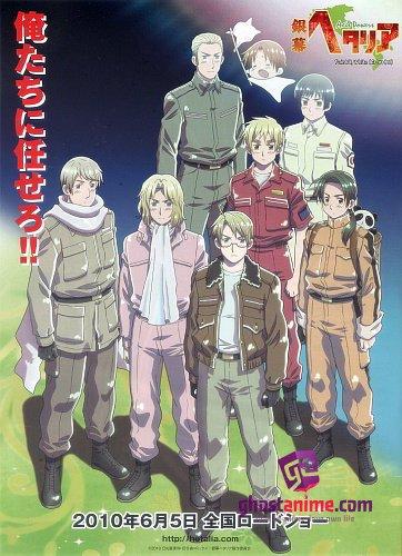 Хеталия и страны Оси (фильм) / Ginmaku Hetalia: Axis Powers - Paint it, WhiteShiroku Nure!