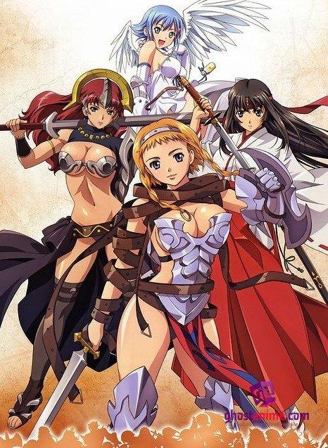 Клинок Королевы [ТВ-1] / Queens Blade: Rurou no Senshi [ТВ-1]
