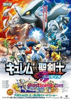Покемон (фильм 15): Кюрем против Мечника Справедливости / Gekijouban Pocket Monsters: Best Wishes - Kyurem vs Seikenshi Keldeo