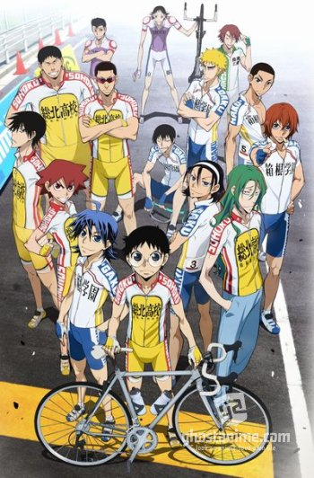 Трусливый велосипедист [ТВ-2] / Yowamushi Pedal: Grande Road