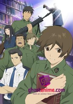 Смотреть аниме Библиотечная война / Library War онлайн бесплатно