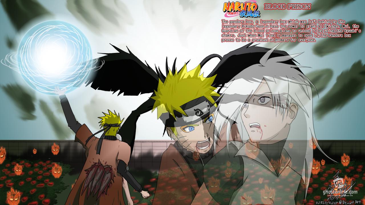 Смотреть аниме Naruto Shippuden: Blood Prison онлайн бесплатно