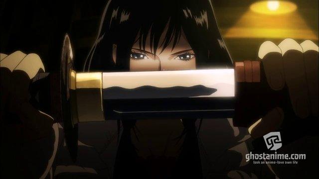 Второй вступительный ролик к фильму «Gekijouban Blood-C: The Last Dark»
