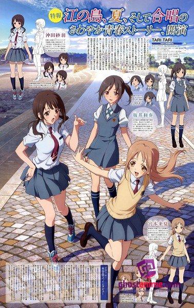 Смотреть аниме Первое промо-видео аниме-сериала «Tari Tari» онлайн бесплатно