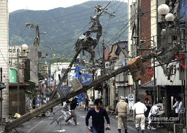 Новости Японии Мощный торнадо прошел в 60 км от столицы Японии