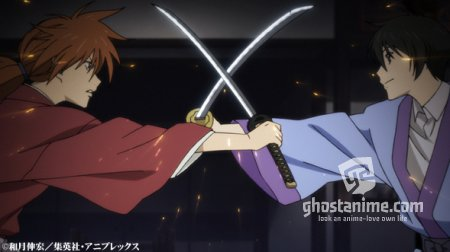 "Анонс даты 2 части ""Rurouni Kenshin: Shin Kyoto-Hen""Трейлер."