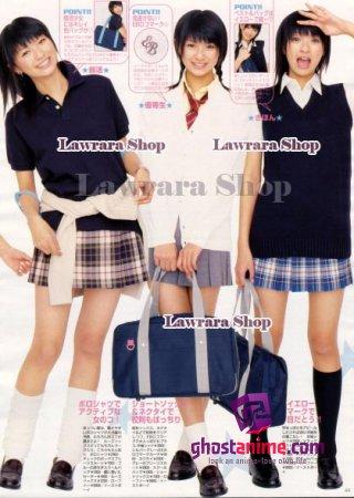 В Японии в моде школьная форма
