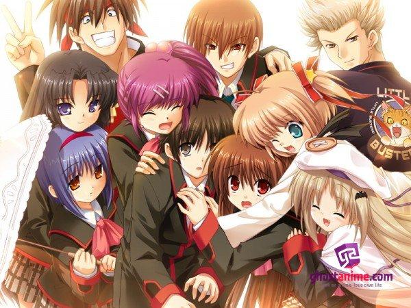 Смотреть аниме Маленькие проказники / Little Busters! онлайн бесплатно