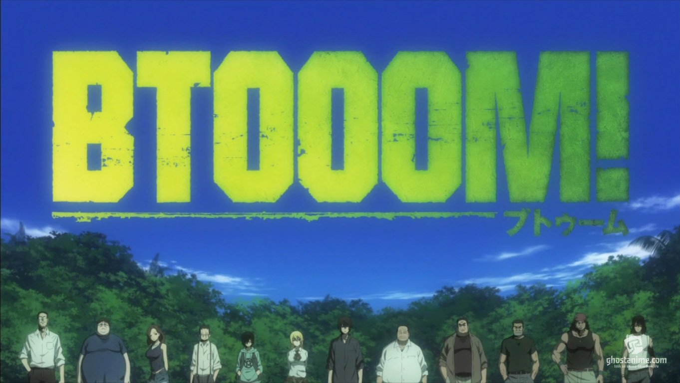Btooom или взрыв онлайн... (рецензия)