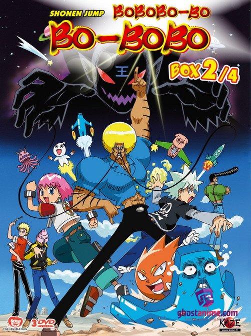 Смотреть аниме Бобобо-бо Бо-бобо / Bobobo-bo Bo-bobo онлайн бесплатно
