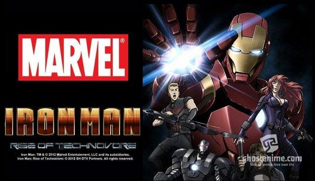 Трейлер нового мувика Iron Man: Rise of Technovore