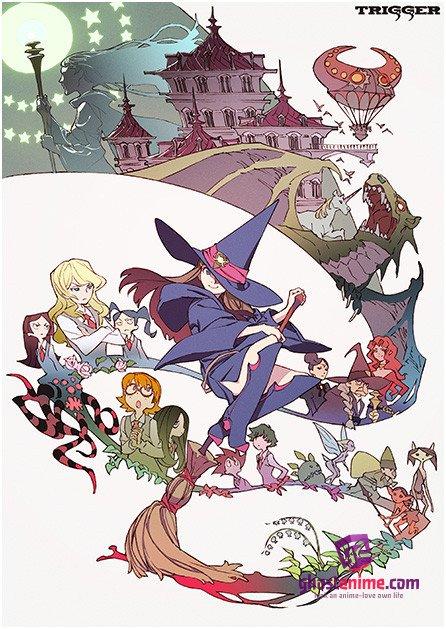Смотреть аниме Академия ведьмочек / Little Witch Academia онлайн бесплатно