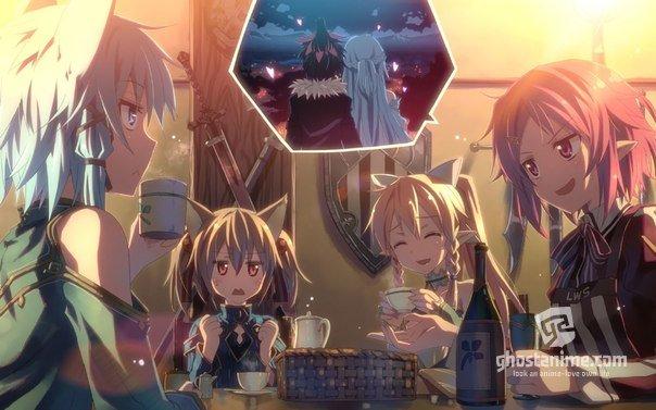 Девушки «Sword Art Online» в новой манге