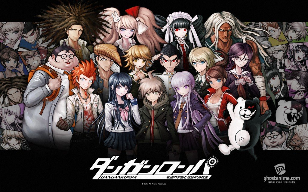 "Промо ""Danganronpa Kibō no Gakuen to Zetsubō no Kōkōsei The Animation"""