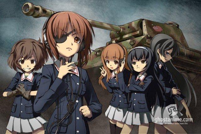 OVA и фильм Girls und Panzer