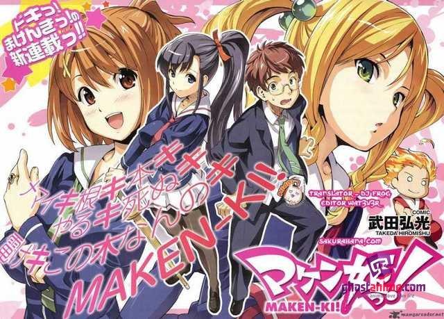 Maken-Ki! Two готовится 2 сезон.