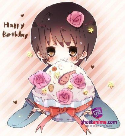 С днем рождения, Aiko!