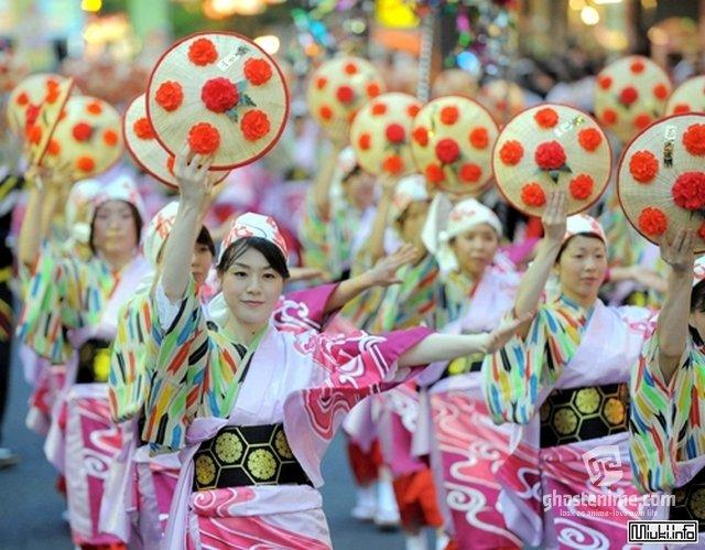 Немного о Японских фестивалях :з
