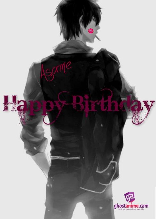 С Днем Рождения, Asame:3