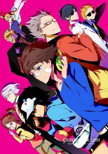 Смотреть аниме Детективное агентство Хаматора / Hamatora The Animation онлайн бесплатно