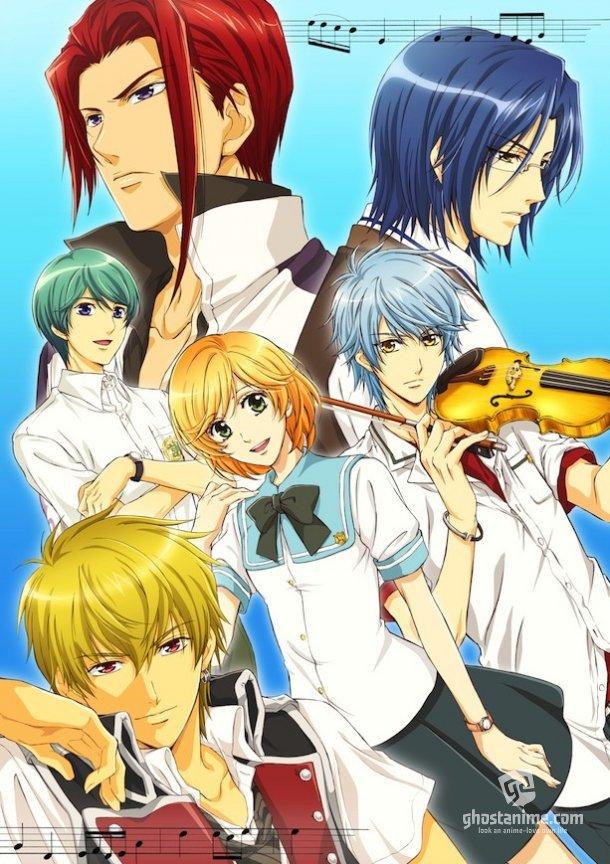 Смотреть аниме Золотая Струна: Синее Небо / Kiniro no Corda: BlueSky онлайн бесплатно