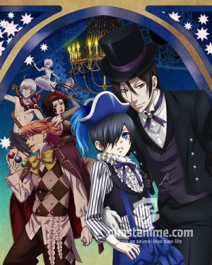 Смотреть аниме Темный дворецкий ТВ-3 / Kuroshitsuji: Book of Circus онлайн бесплатно