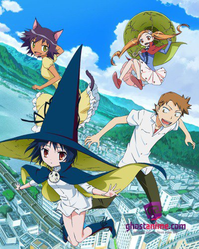 Смотреть аниме Ведьмочка Рурумо / Majimoji Rurumo онлайн бесплатно