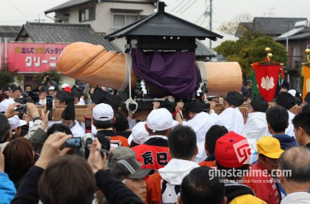 В Японии проходит ежегодный фестиваль пениса