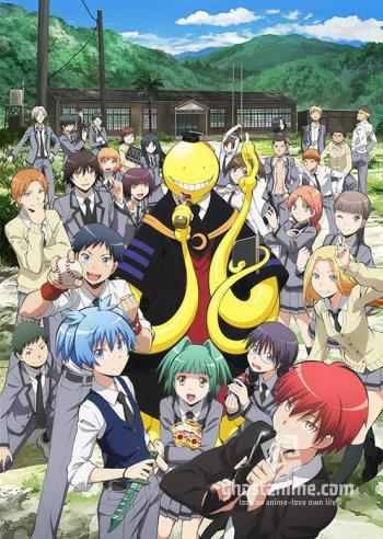 Смотреть аниме Класс Убийц / Ansatsu Kyoushitsu онлайн бесплатно
