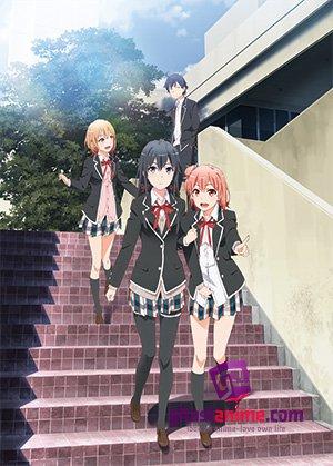 Смотреть аниме Розовая пора моей школьной жизни сплошной обман ТВ-2 / OreGairu TV-2 онлайн бесплатно