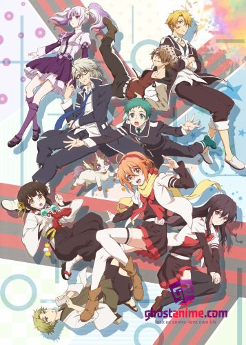 Смотреть аниме Сюита школы Микагура / Mikagura Gakuen Kumikyoku онлайн бесплатно