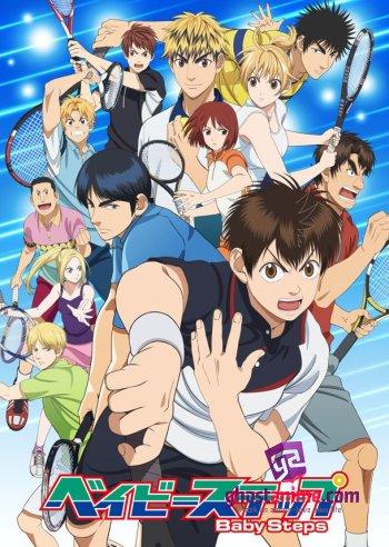 Смотреть аниме Первые шаги ТВ-2 / Baby Steps TV-2 онлайн бесплатно