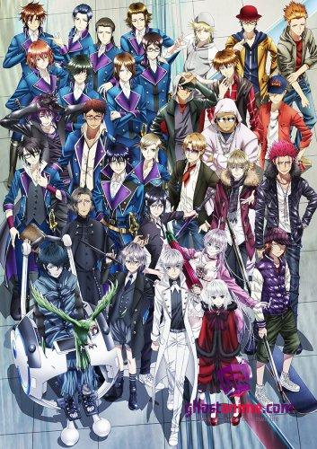 Смотреть аниме Проект Кей: Возвращение королей / K: Return of Kings онлайн бесплатно